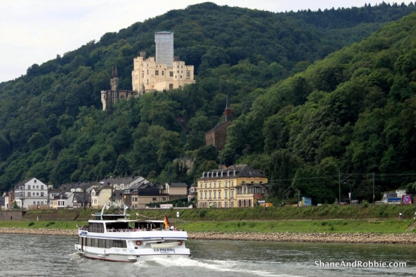 Cruising the River Rhine, castle-spotting