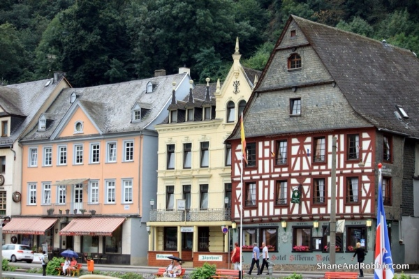 The village of St Goar was the half-way mark in our journey.