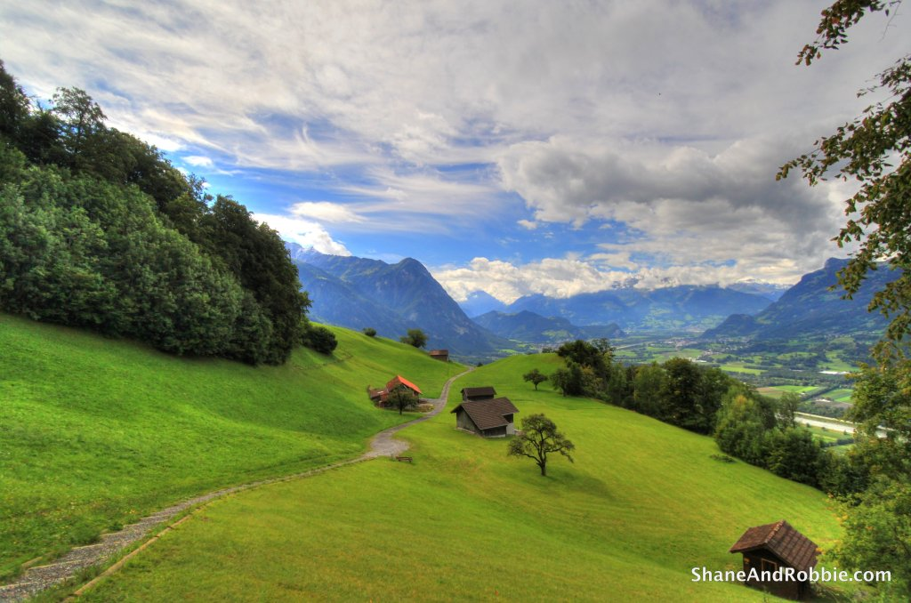 Liechtenstein - your average 10mm wide-angle landscape shot
