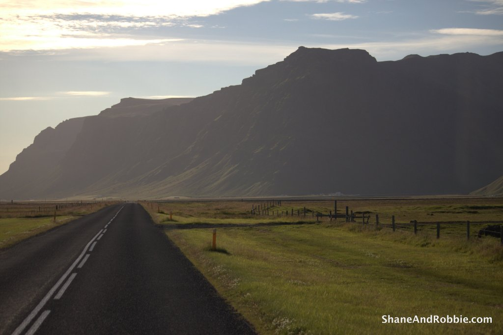 Iceland - 65mm whilst roaring along at 130km/hr - no blur...