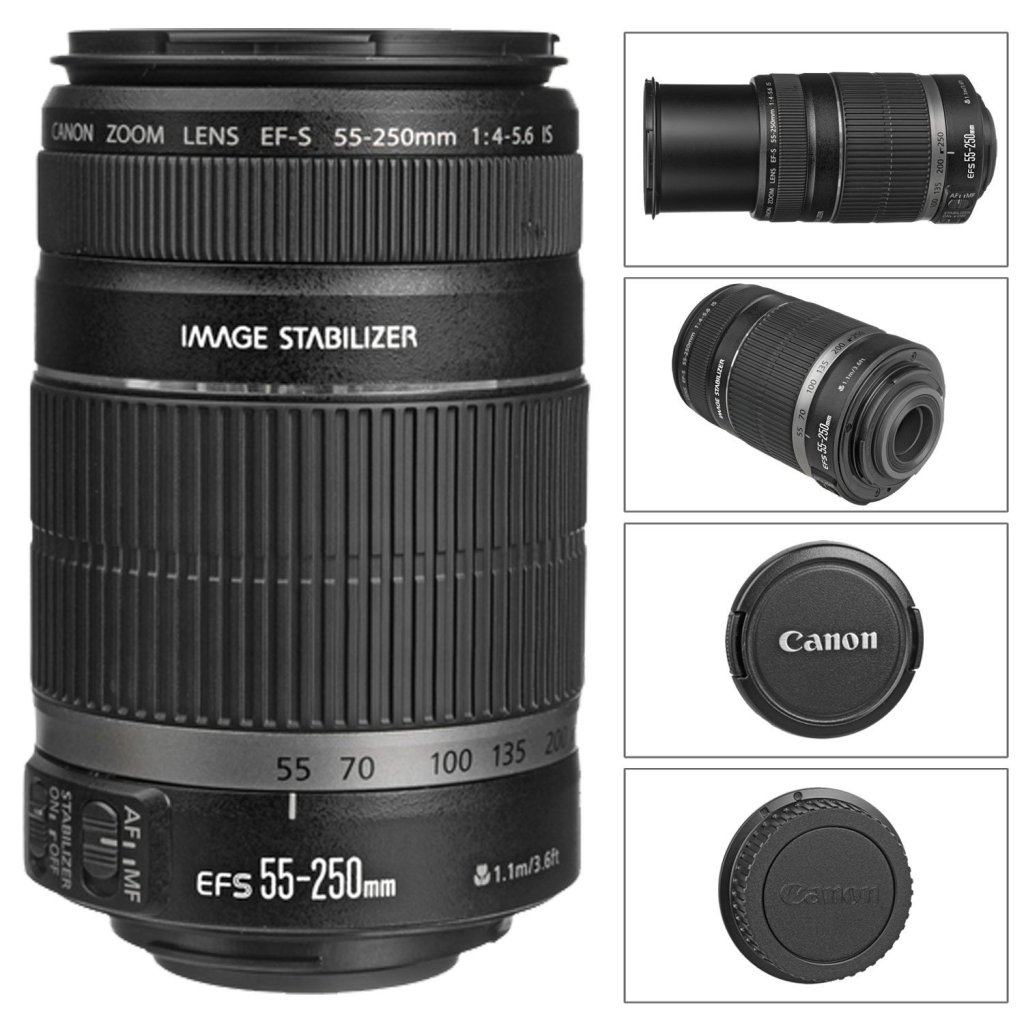 Canon 55-250 lens - for our zoom and action shots