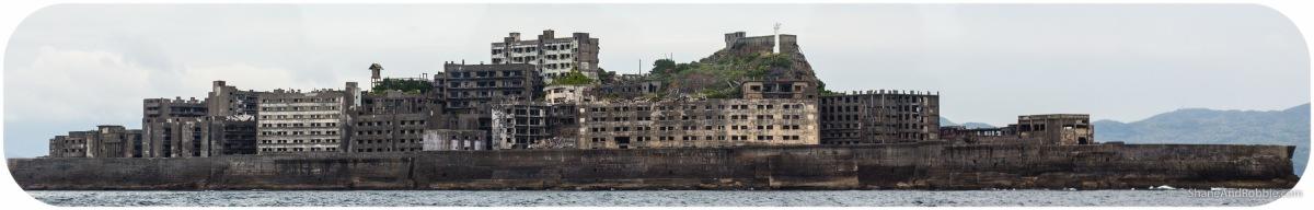 Gunkanjima, Nagasaki - Battleship island...